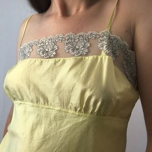 Yellow Silk Camisole from dosa